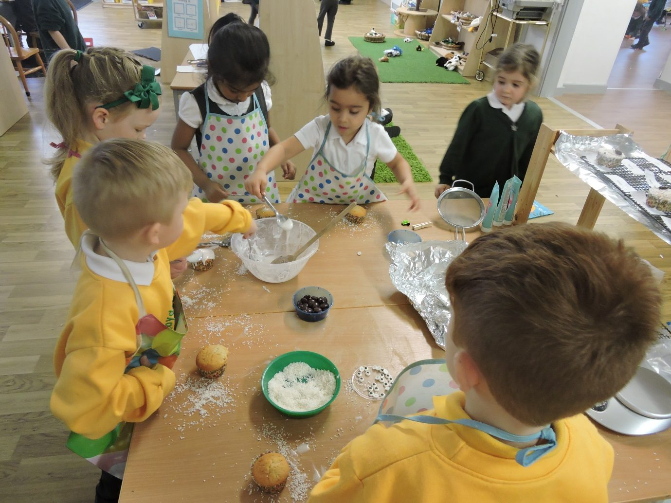 Reception Great Christmas Bake Off!