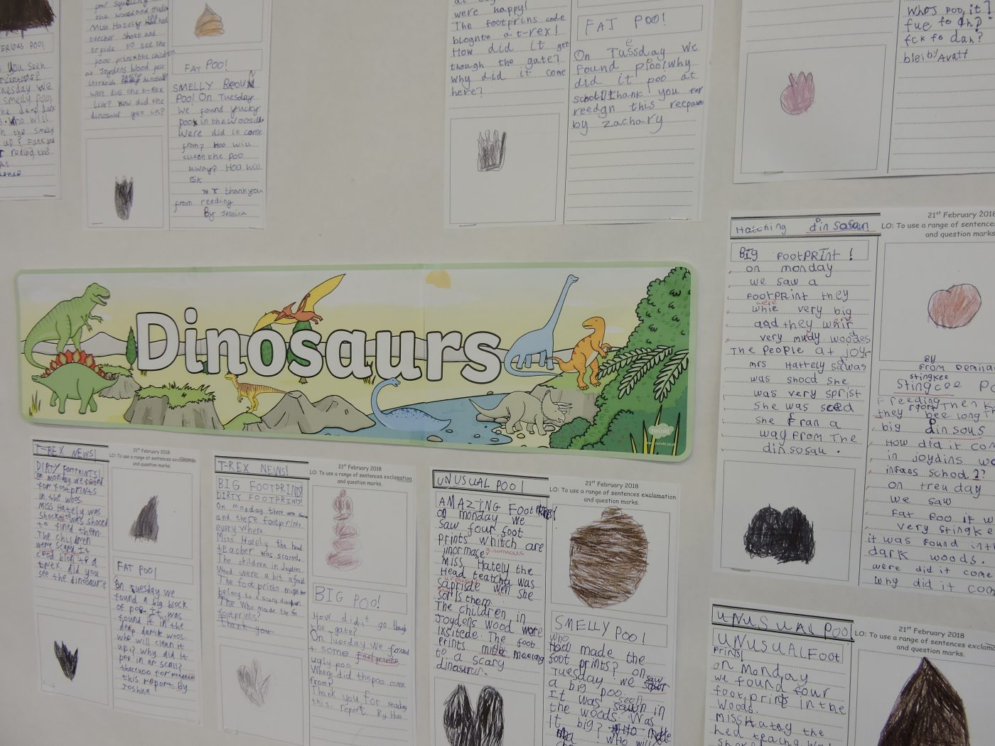 Big Footprints and Smelly Poo in Year One
